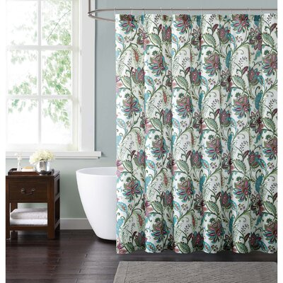 Adilet Floral Shower Curtain