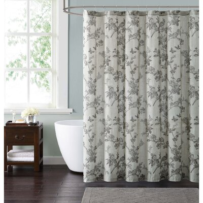 Foster Shower Curtain Color: Brown