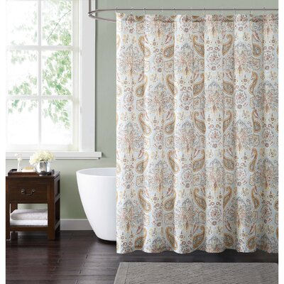 Currywood Shower Curtain Color: Blue