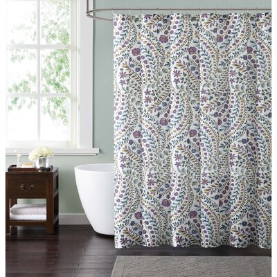 Wills Floral Shower Curtain