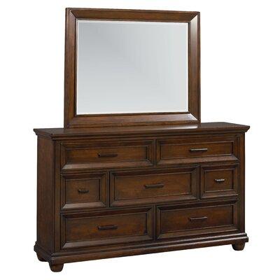 Vineyard 7 Drawer Dresser with Mirror