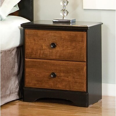 Standard Furniture Steelwood 2 Drawer Nightstand