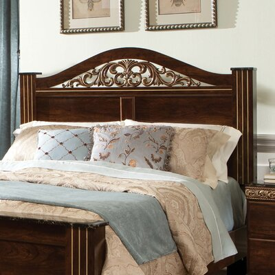 Odessa Panel Headboard Finish: Cherry, Size: King