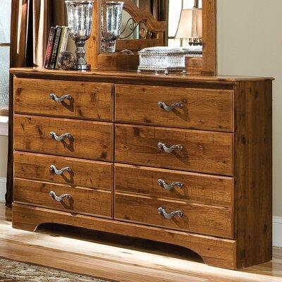 Hester Heights 6 Drawer Standard Dresser