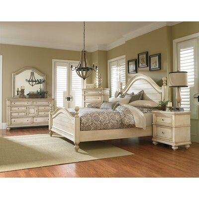 Claudia King Panel Bed