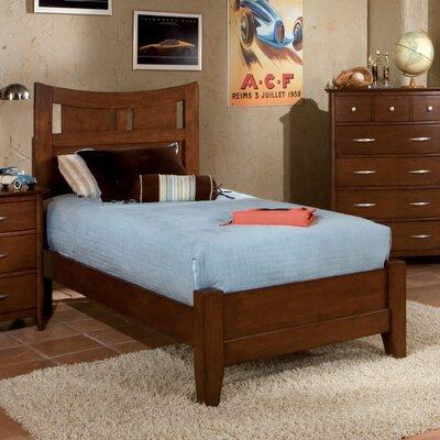 Buy low price village craft platform bed in dark brown for Kids craft bed