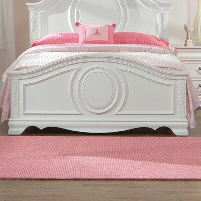 Theo White Panel Bed
