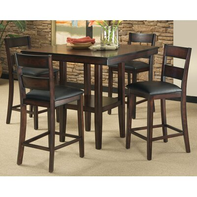 Pendwood 5 Piece Counter Height Dining Set