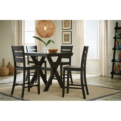 Costa 5 Piece Counter Height Dining Set