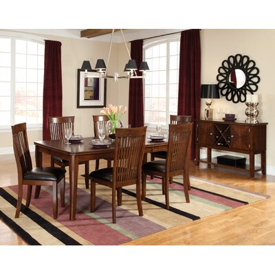 Pangea Home Sienna Vinyl Dining Chair Set Of 2 Color Brown PHQ1110 707677