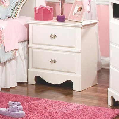 Standard Furniture Spring Rose 2 Drawer Nightstand