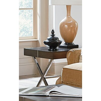 Ava End Table Finish: Smoky Brown