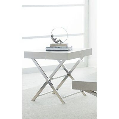 Ava End Table Finish: Sliver