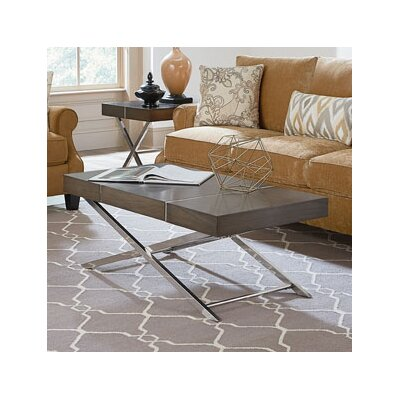 Ava Lift Top Coffee Table Color: Smoky Brown
