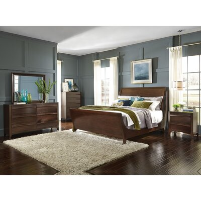 Downs Sleigh Panel Customizable Bedroom Set