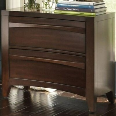 Downs 2 Drawer Nightstand