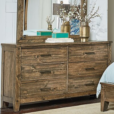 Burleigh 6 Drawer Double Dresser