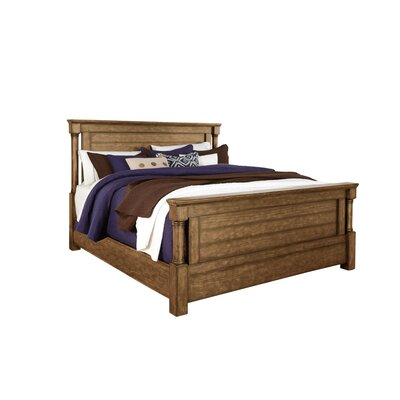 Burndale Panel Headboard Size: King