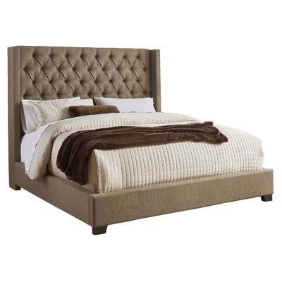 Aldergrove Upholstered Panel Bed Size: King