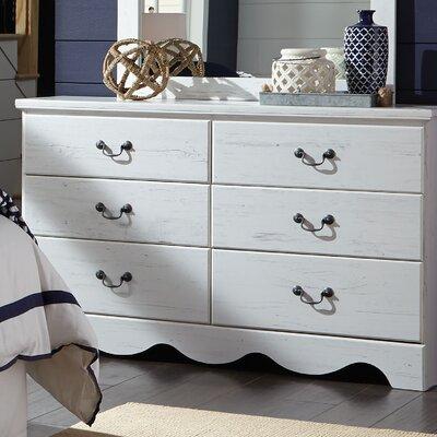 Elinor 6 Drawer Double Dresser