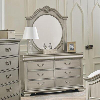 Jan 6 Drawer Dresser with Mirror