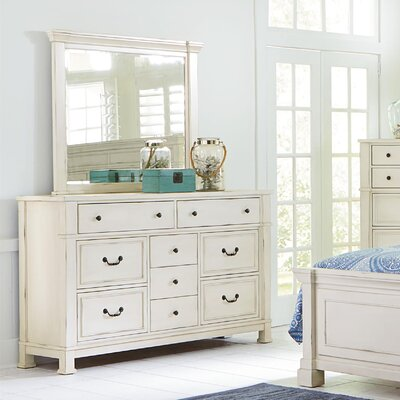 Parfondeval 9 Dresser with Mirror