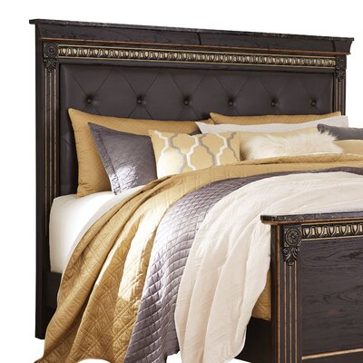 Queenie Upholstered Panel Headboard Size: Queen