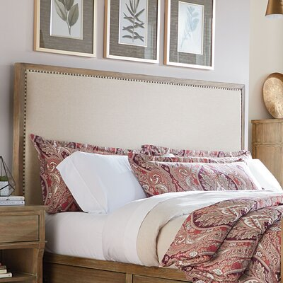Grimaud Upholstered Panel Headboard Size: King