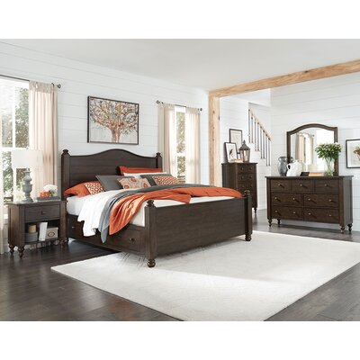 Schneider Poster Panel Headboard Size: King
