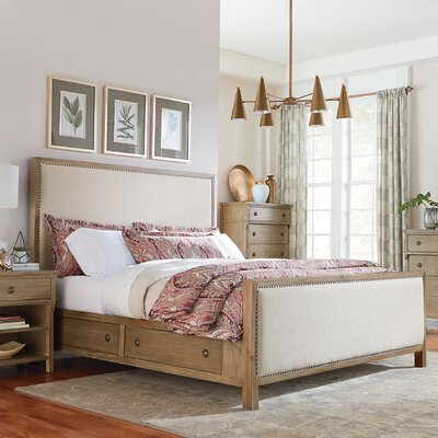 Grimaud Upholstered Storage Panel Bed