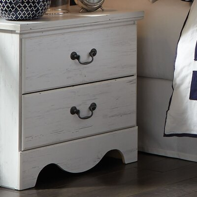 Elinor 2 Drawer Nightstand
