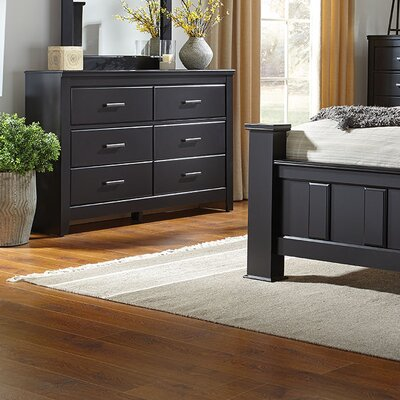 Nassau 6 Drawer Double Dresser RBRS1342 39214374