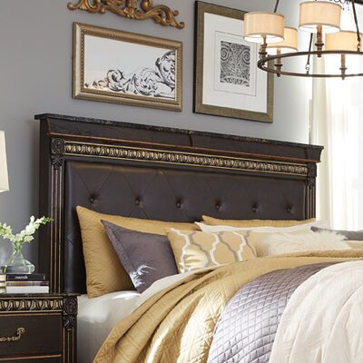 Queenie Upholstered Panel Headboard Size: Full/Queen