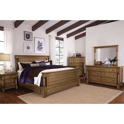 Burndale Panel Customizable Bedroom Set