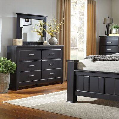 Nassau 6 Drawer Dresser with Mirror