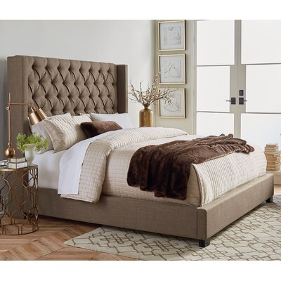 Aldergrove Upholstered Panel Bed Size: Queen