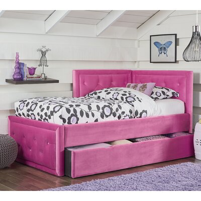 Kristy Upholstered Panel Bed