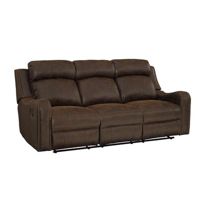 Candida Track Arms Reclining Sofa Recliner Mechanism: Power