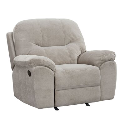 Colberta Rocker Recliner Upholstery: Taupe, Reclining Type: Manual