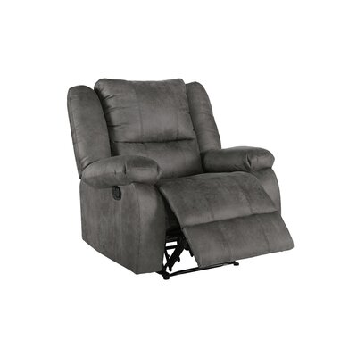 Eton Manual Recliner Upholstery: Gray