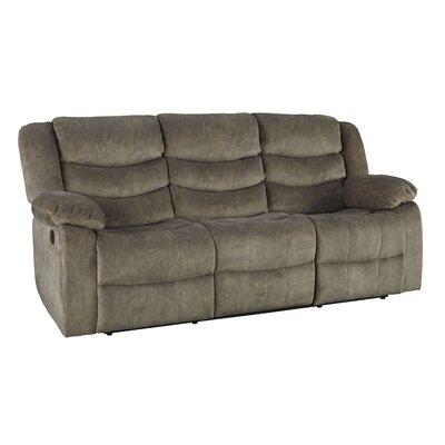 Eila Reclining Sofa Upholstery: Tan