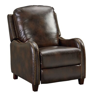 Beckemeyer Manual Recliner Upholstery: Burgandy