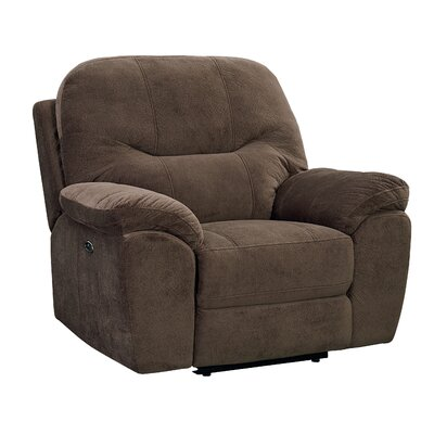 Colberta Rocker Recliner Upholstery: Sable, Recliner Type: Power