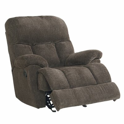 Chambery Manual Glider Recliner Upholstery: Toast