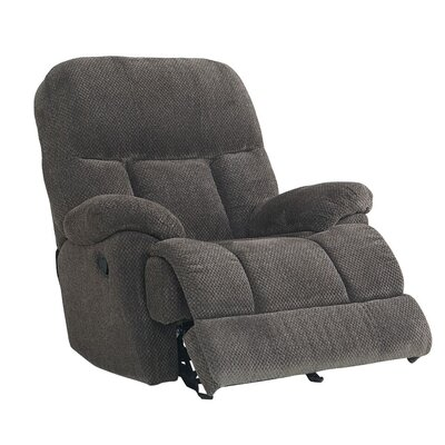 Chambery Manual Glider Recliner Upholstery: Ash