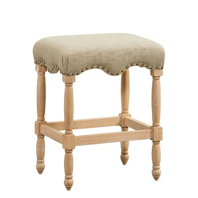 Adalhard Fabric 26 Bar Stool