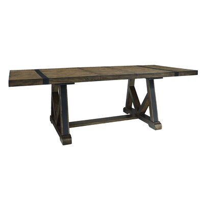 Leandra Trestle Extendable Dining Table
