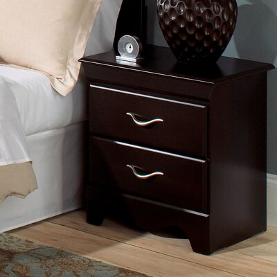 Crossroads Standard 2 Drawer Nightstand