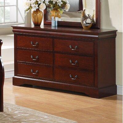 Lewiston Standard 6 Drawer Dresser