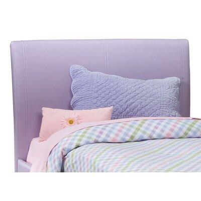 Fantasia Upholstered Panel Headboard Size: Twin, Finish: Lavender